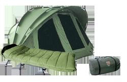 Angelzelte / Angelliegen / Schlafsäcke