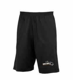 Shorts mit Logo euro-som schwarz